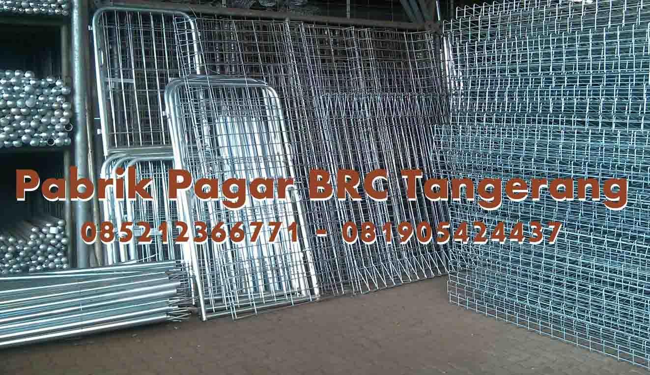 Pabrik Pagar BRC Tangerang